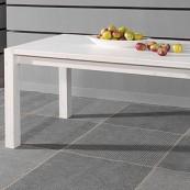 Stół  Marco - 160 - sosna biała lakierowana
