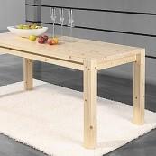 Stół  Marco - 160 - sosna surowa