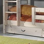 Szuflady łóżka SOFUS - sosna surowa